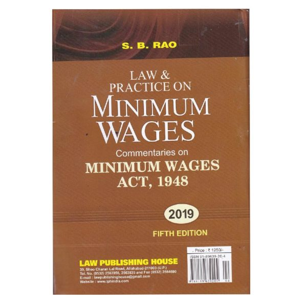 Law & Practice on MINIMUM WAGES Commentaries on MINIMUM WAGES ACT ,1948