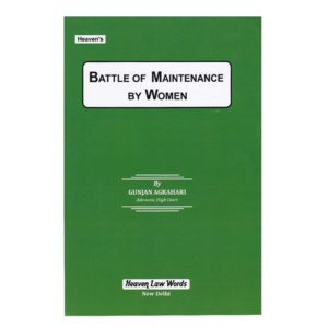 Battle Of Maintenance by women by Gunjan Agrahari