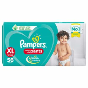 Pampers New Diapers Pants XL (56 Count)