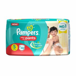 Pampers Pants Small, 40 N
